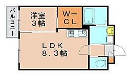 プリマヴェーラ[1階]の間取り