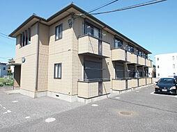 埼玉県川越市大字鯨井の賃貸アパートの外観