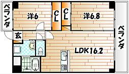 ヒット小倉BLD[7階]の間取り