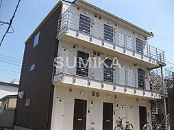 岡山県岡山市北区奉還町4の賃貸アパートの外観