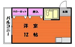 ファミーユ香住ヶ丘[1階]の間取り