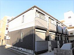 東京都昭島市昭和町4丁目の賃貸アパートの外観