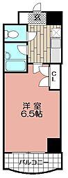 マリナーズコート福岡[407号室]の間取り