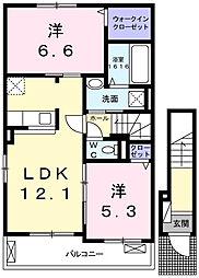 カピリナ[2階]の間取り