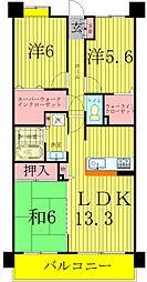 INSURANCE BLDG.8[1階]の間取り