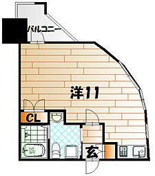 No.63 オリエントキャピタルタワー[14階]の間取り
