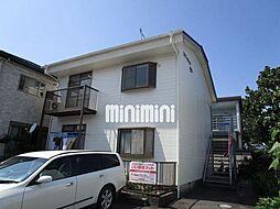 静岡県藤枝市東町の賃貸アパートの外観
