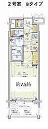 Osaka Metro堺筋線 天神橋筋六丁目駅 徒歩6分の賃貸マンション 9階1Kの間取り