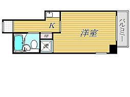 ランドピア曳舟[4階]の間取り