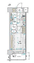 東京メトロ東西線 南砂町駅 徒歩10分の賃貸マンション 2階1Kの間取り