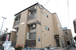 愛知県名古屋市瑞穂区大喜町3丁目の賃貸アパートの外観