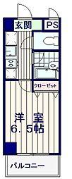 モンヴィラージュ中野新橋[2階]の間取り