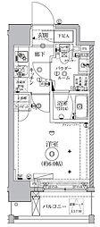 クレイシア西横浜グランカリテ[7階]の間取り