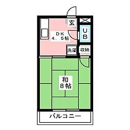 アジアンパークストリート[2階]の間取り