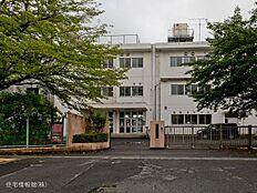 八王子市立石川中学校 距離580m