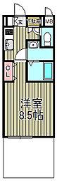 アゼリア鎌倉B[101号室]の間取り