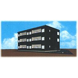 中間島新築マンション[101号室]の外観