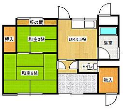 多喜浜駅 2.7万円