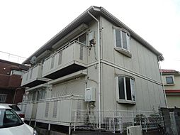 神奈川県横浜市港北区富士塚1丁目の賃貸アパートの外観