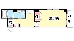 兼山マンション[5階]の間取り