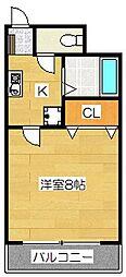 チェリーブラッサムTaKeDa2[5階]の間取り
