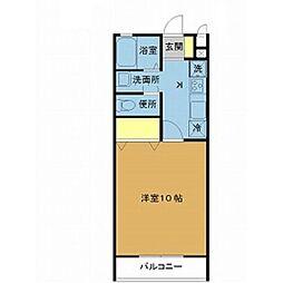 新潟県新潟市西区小新南1丁目の賃貸アパートの間取り