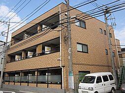 東京都府中市日新町1丁目の賃貸マンションの外観
