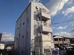 大阪府富田林市錦織北2丁目の賃貸マンションの外観