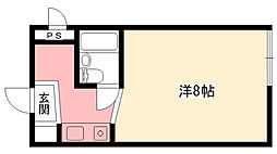グレースメモリー甲子園[3階]の間取り