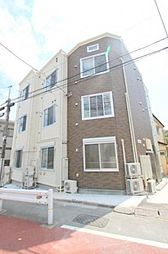 東京都大田区西六郷4丁目の賃貸アパートの外観