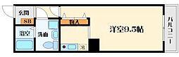 サングレートESAKAII[6階]の間取り
