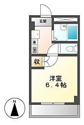 レジデンスオーミ第2[1階]の間取り