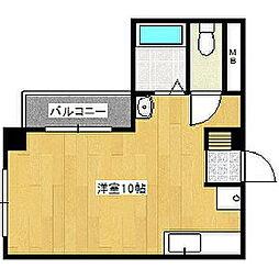 ウェルデ360[2階]の間取り