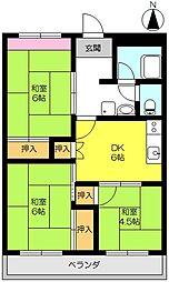 プロスペールマンション[102号室]の間取り
