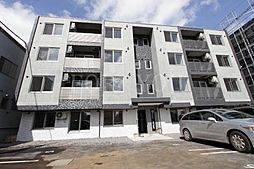 北海道札幌市厚別区厚別西一条3丁目の賃貸マンションの外観