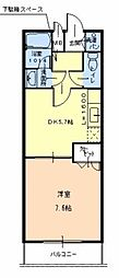 ラパス高倉台2番館[2階]の間取り