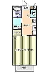 エソール平松[1階]の間取り
