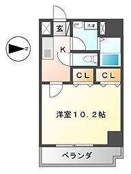 アルバ志賀本通[3階]の間取り