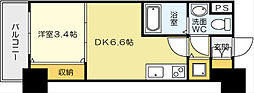 No.71 オリエントトラストタワー[22階]の間取り