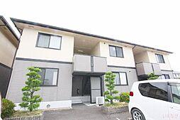 香川県高松市松縄町の賃貸アパートの外観