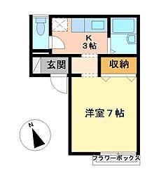 コーポSG[2階]の間取り
