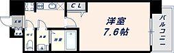 Osaka Metro中央線 緑橋駅 徒歩6分の賃貸マンション 6階1Kの間取り