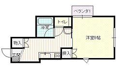 ブルーメンハイム[2階]の間取り
