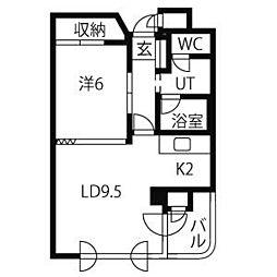 ローヤルハイツ 南3条[503号室]の外観