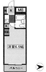 ライブトピア子安[3階]の間取り