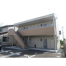 静岡県浜松市浜北区染地台3丁目の賃貸アパートの外観