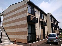 兵庫県加古郡播磨町二子の賃貸アパートの外観