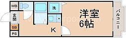 オリエントハイツ[2階]の間取り