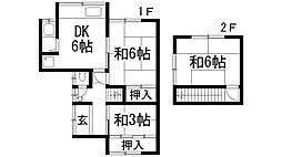 [テラスハウス] 兵庫県川西市加茂2丁目 の賃貸【/】の間取り