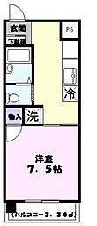 和田マンション[105号室]の間取り